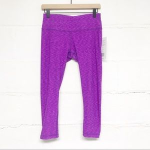 NWT Active Life Reversible Athletic Leggings SM